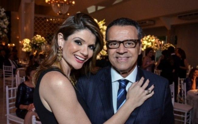 Laurita Arruda e Henrique Eduardo Alves, novo Ministro do Turismo