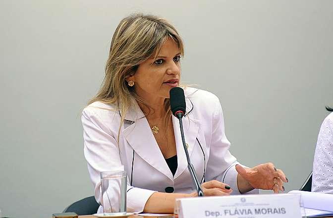 Deputada Flávia Morais (PDT-GO) é a autora do projeto (Crédito: Reprodução)