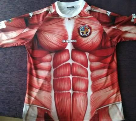 Time da Espanha lança uniforme inusitado (Crédito: Reprodução)