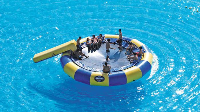 Maior piscina do mundo (Crédito: Reprodução)
