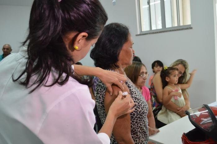Vacinação contra influenza
