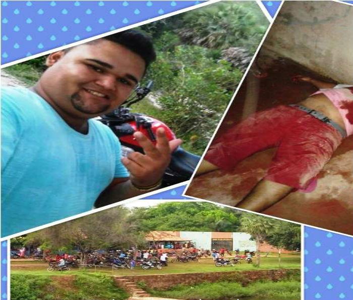Leandro foi morto dentro de um bar em Barras (Crédito: Barras Virtual)