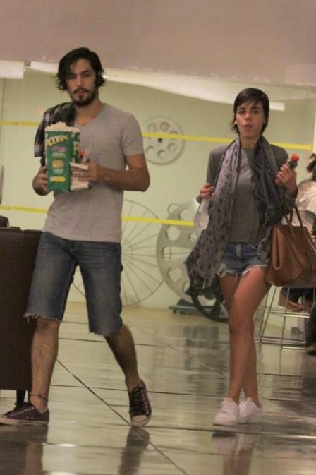 Gabriel Leone e Carla Salle (Crédito: Reprodução)