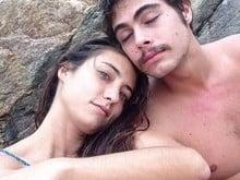 Rafael Vitti se declara para a namorada em foto publicada na web