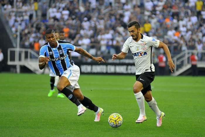 Corinthians erra finalizações e empata sem gols com o Grêmio (Crédito: Reprodução)