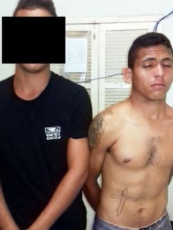 Força Tática apreende dupla acusada de realizar assaltos em Altos (Crédito: Reprodução)