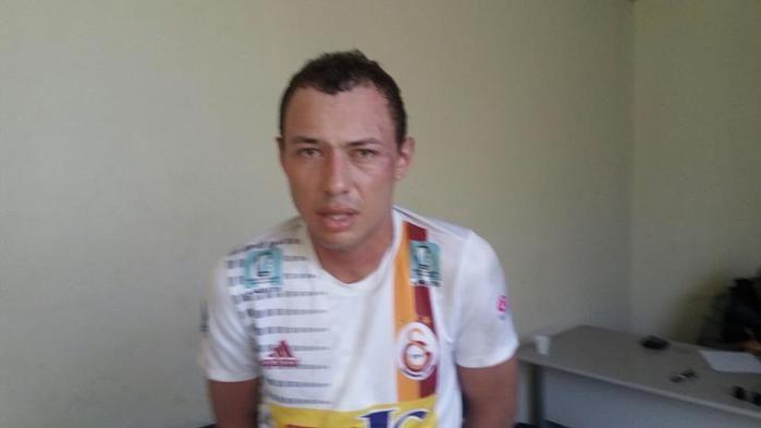 Acusado preso de roubar comércio na zona Norte de Teresina (Crédito: Reprodução)