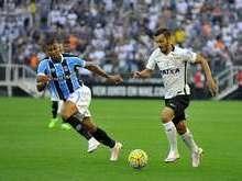 Corinthians erra finalizações e empata sem gols com o Grêmio