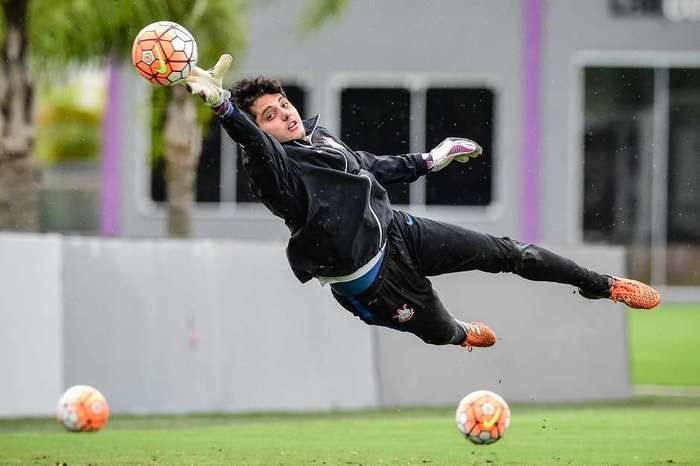 Matheus Vidotto, goleiro do Corinthians (Crédito: GazetaPress)