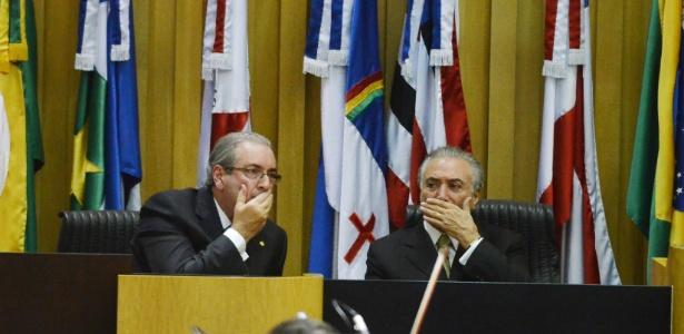 Temer não quer se indispor com Cunha (Crédito: Divulgação)