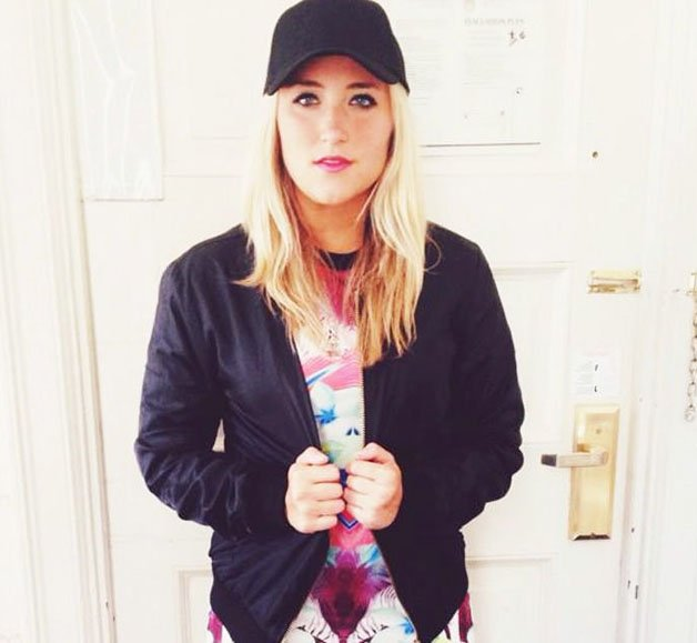 A jovem Allie Davis