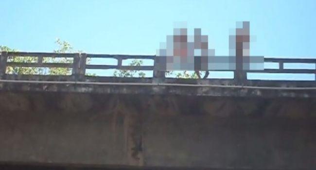 Homem morreu após pular de ponte (Crédito: Reprodução)