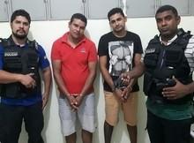 Polícia de União prende dupla e apreende arma e veículos roubados