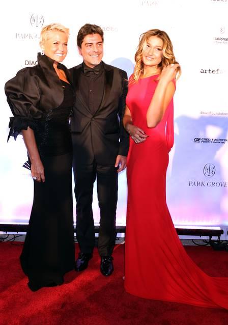 Sasha com Xuxa e Junno Andrade (Crédito: Divulgação)