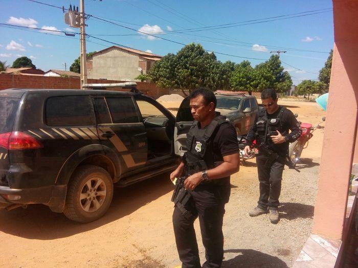 Secretario de segurança pública do Piauí, Fábio Abreu