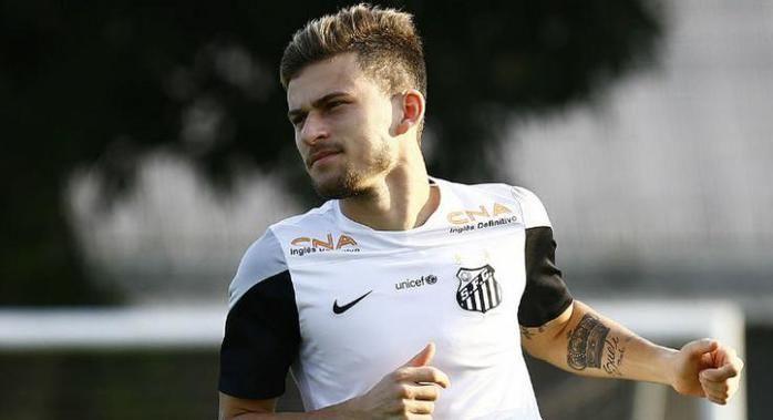 Lucas Lima, do Santos