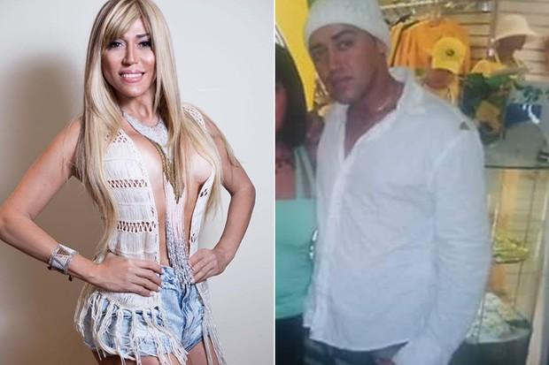 Bruno Souza virou Mulher Abacaxi  (Crédito: Arquivo Pessoal )