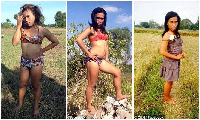 """Travesti era conhecida como """"Sexy Pancake"""" (Crédito: Divulgação)"""