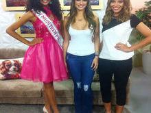 Supertop recebe Andressa Leão e a Miss Teen Piauí Monalysa