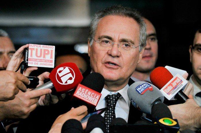 Senador Renan Calheiros (Crédito: Agência Senado)