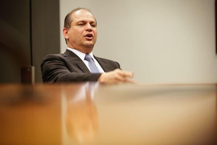 Ministro interino Ricardo Barros (Crédito: Reprodução)