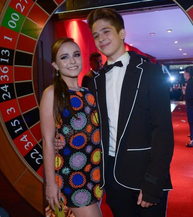 Larissa Manoela e João Guilherme (Crédito: Reprodução)