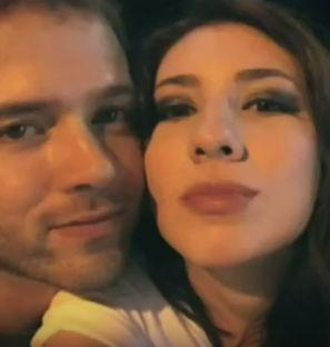Yrla e o namorado (Crédito: Reprodução)