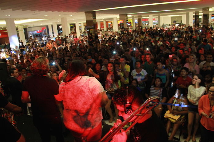 Farra da Gordinha no Shopping Rio Poty (Crédito: Kelson Fontinele)