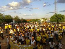 18 de maio é marcado com caminhada e palestras em Santo Inácio