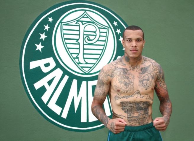 França em foto de quando ainda atuava pelo Palmeiras (Crédito: LancePress)