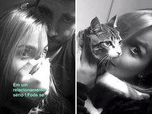 No Snapchat, Caio Castro assume novo relacionamento
