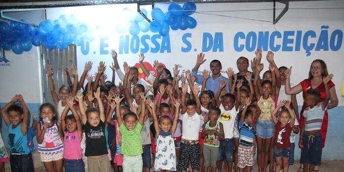 Escola e estradas são inauguradas na zona rural de Miguel Alves