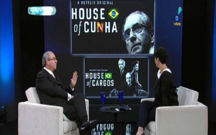 """Eduardo Cunha fala sobre comparação com Frank Underwood, protagonista de """"House of Cards"""" (Crédito: Reprodução)"""