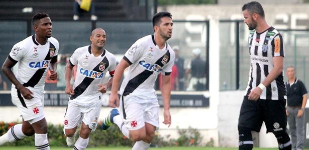 Luan fez o gol da vitória do Vasco