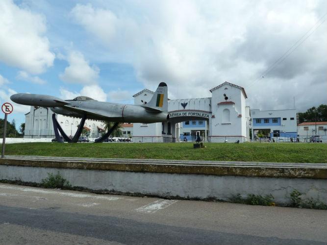 Base aérea de Fortaleza (Crédito: Reprodução)