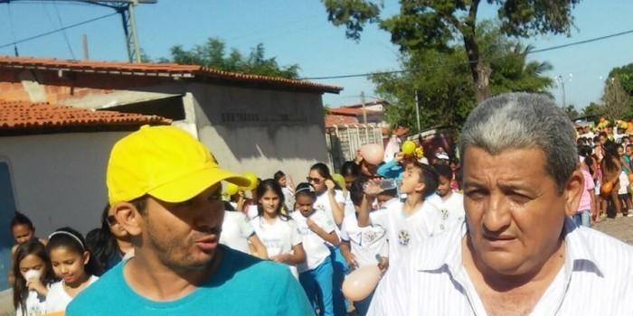 PREFEITURA DE BOA HORA PROMOVE CAMINHADA DE COMBATE AO ABUSO SEXUAL