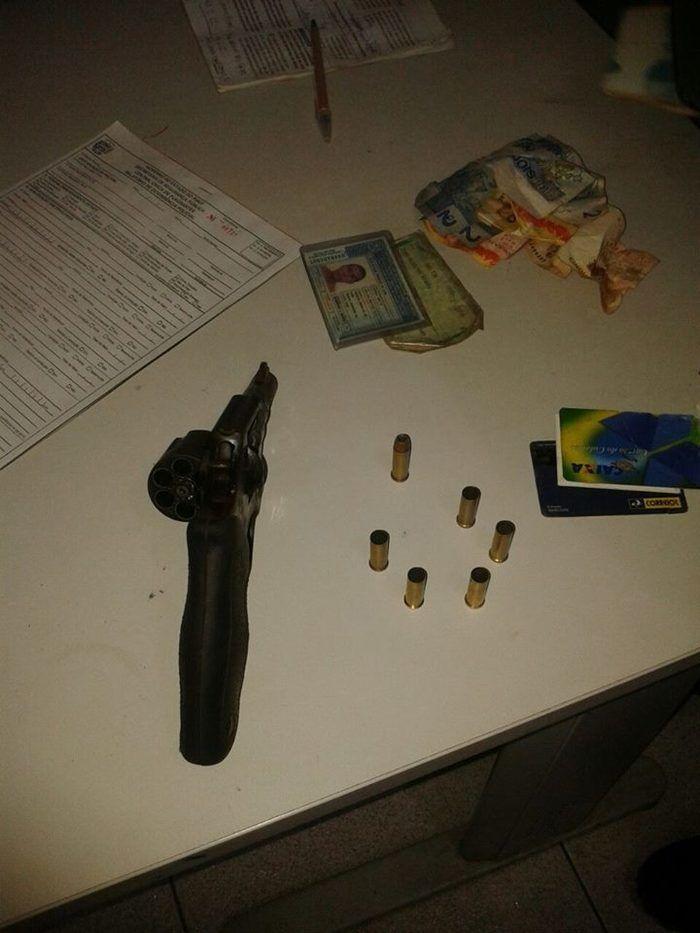 Armas apreendidas (Crédito: Reprodução)