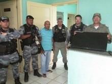 Policia apreende menores acusado de roubar uma casa em Agricolândia