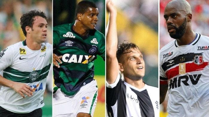 Dos 45 gols do Brasileirão, 19 são de jogadores de 30 anos ou mais (Crédito: Reprodução)