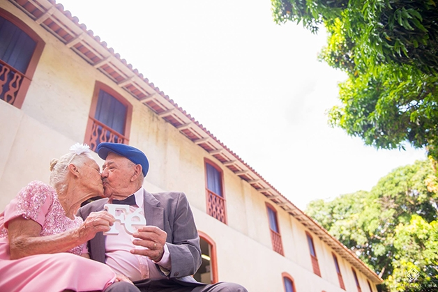 Casal faz ensaio fotográfico para celebrar o amor (Crédito: Reprodução/Camila Lima)