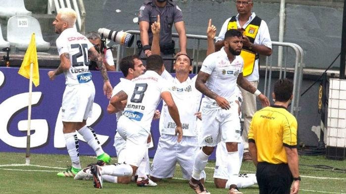 Atual vice-campeão, o Santos decide em casa a 3ª fase da Copa do Brasil (Crédito: Gazeta Press)