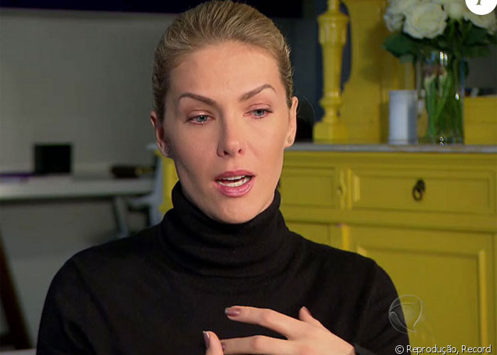 Ana falou em entrevista sobre atentado  (Crédito: Ego)