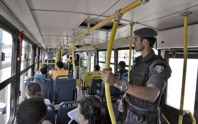 Segurança dentro dos ônibus em São Luís
