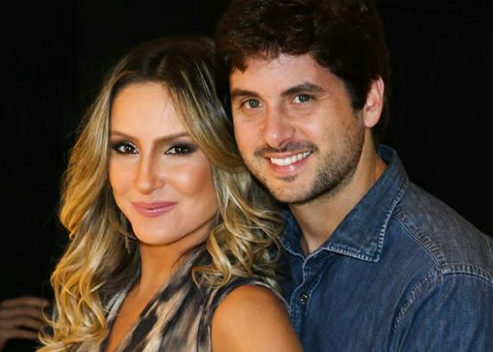 Claudia  Leitte e seu marido (Crédito: Divulgação)