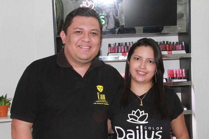 Lais Meneses e Wanderson Silva (Crédito: José Alves Filho)