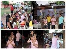 Prefeito Edílson Capote participa de eventos em homenagem as mães
