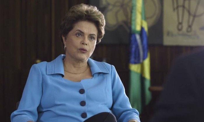 Presidente afastada Dilma Rousseff (Crédito: Reprodução)