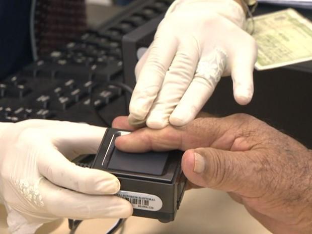 Votação biométrica (Crédito: Reprodução)