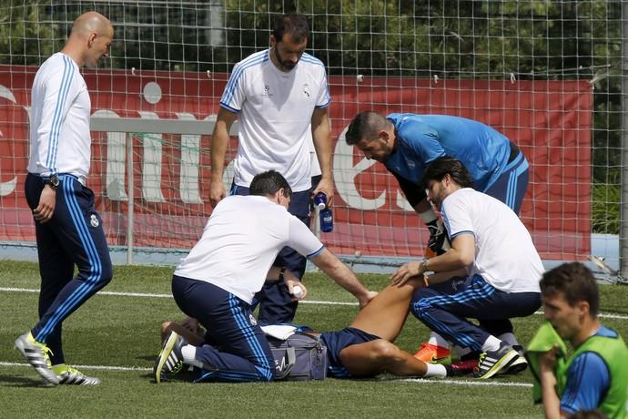 Cristiano Ronaldo lesionado (Crédito: Reprodução)