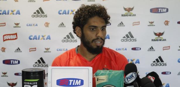 O zagueiro Wallace disse que não via a hora de chegar ao Grêmio, um 'namoro antigo' (Crédito: Reprodução)